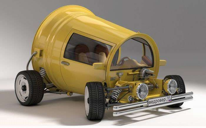 Ведровер - новый концепт АвтоВАЗ (4 фото)