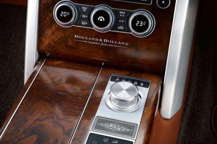 Роскошный внедорожник Range Rover для поездки на охоту (11 фото)