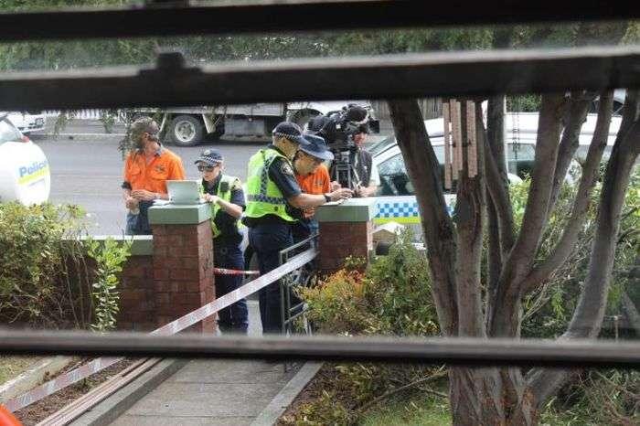 Австралийская семья сделала жуткую находку на заднем дворе своего дома (11 фото)
