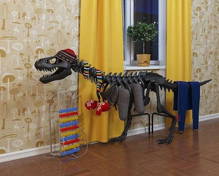 Вешалка «Динозавр».