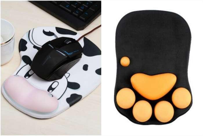 Оригинальные коврики для компьютерных мышек.