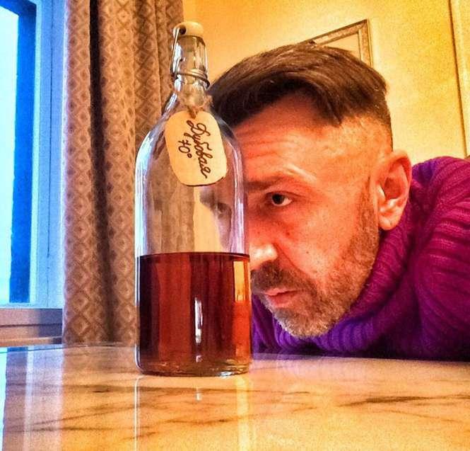 Шнур и алкоголь