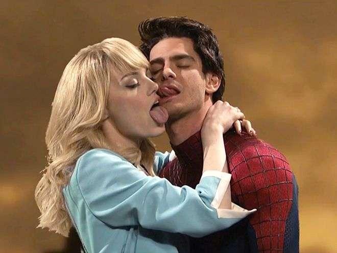 Прежде, чем целовать девушку, нужно потренироваться на помидорах (14 фото)