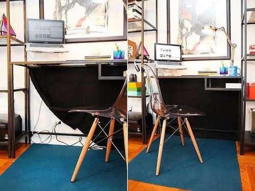 Шторка под столом