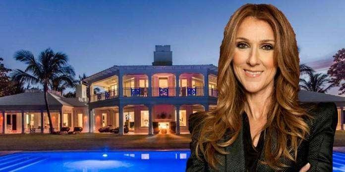 Роскошный особняк Селин Дион стоимостью 45 млн. долларов в США (22 фото)