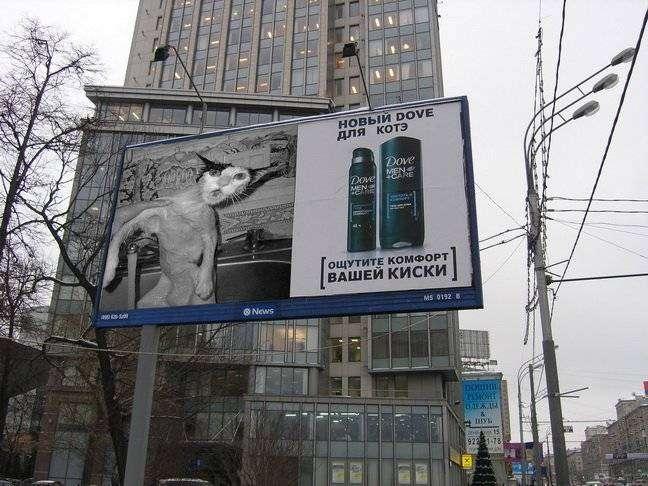 Фотожабы рекламы Dove Men (30 фото)