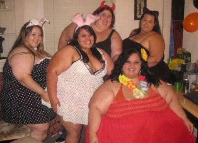 Люди, которым срочно надо похудеть