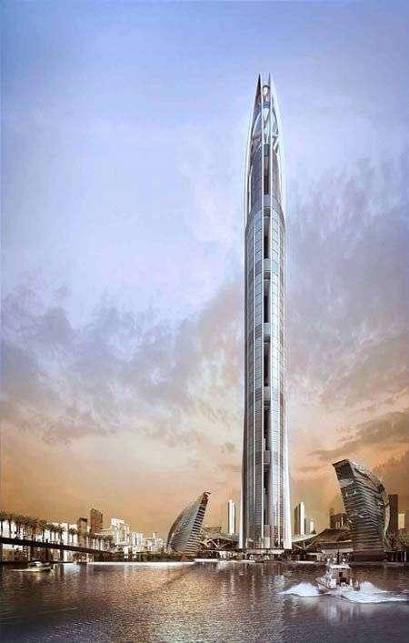 Новая башня в Эмиратах (8 фото)