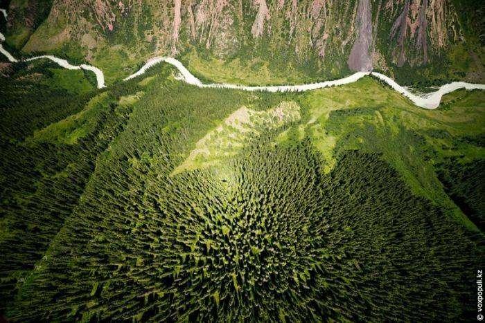 Красоты Казахстана с высоты птичьего полета (40 фото)