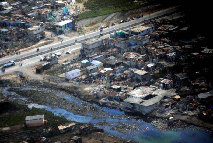 Разрушения на Гаити (20 фото)