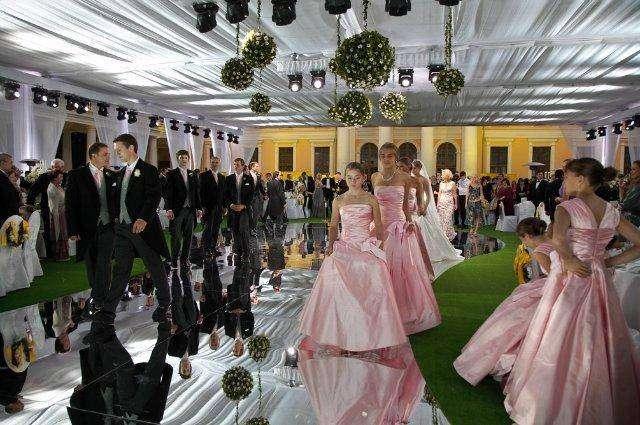 Одна из самых дорогих свадеб (14 фото)