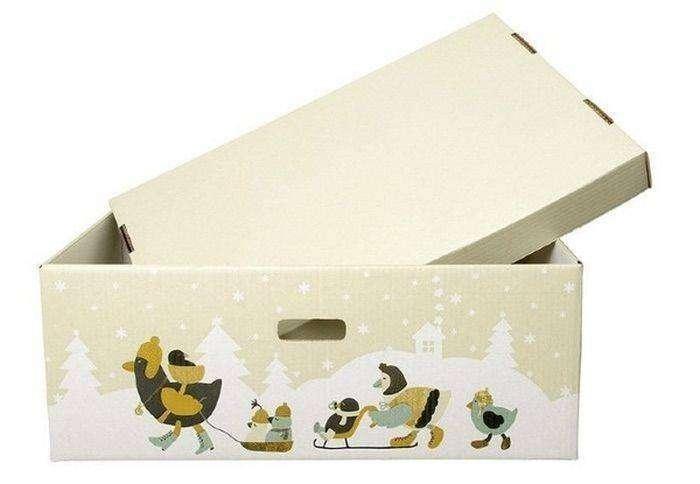 Коробка для новорожденных (5 фото)