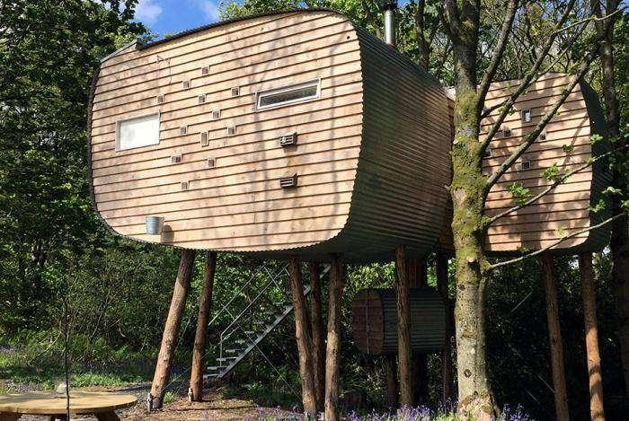 Как выглядят настоящие дома без единого угла (11 фото)