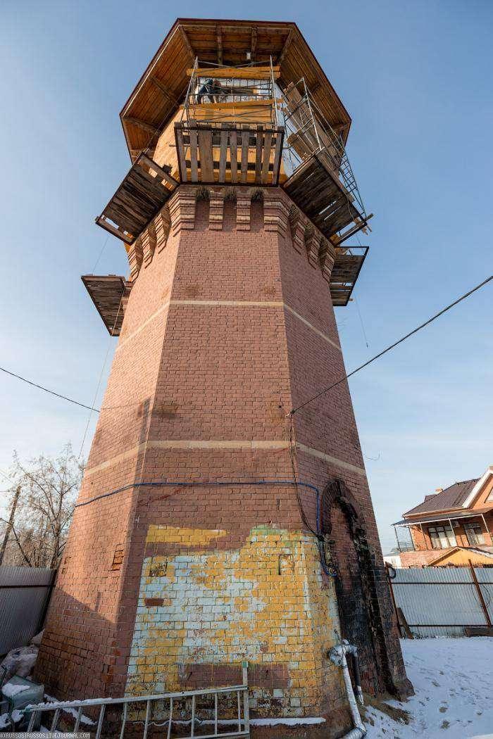 Томск. Башня Лунева (24 фото)