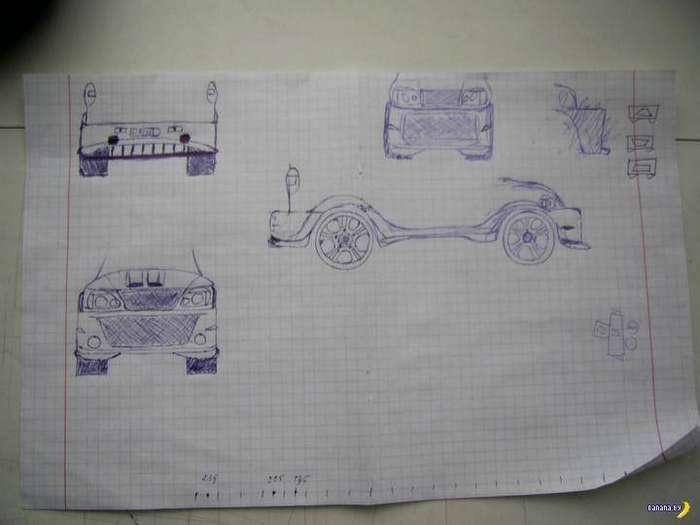 Амбициозный проект кузовного тюнинга Chevrolet Niva