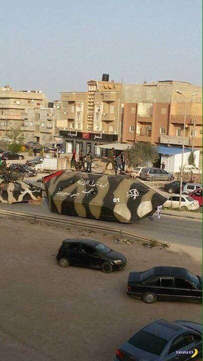 ИГИЛ показал новую разработку в области бронетехники