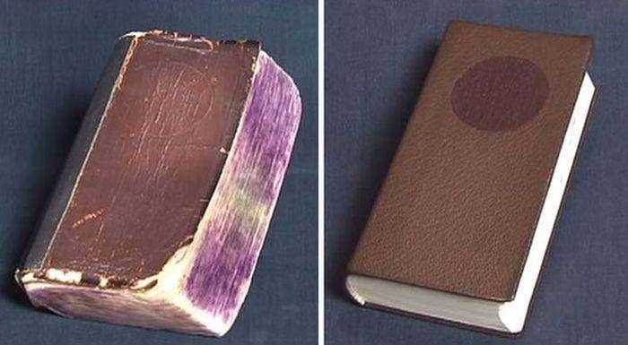 Японец реставрирует старые книги (10 фото)