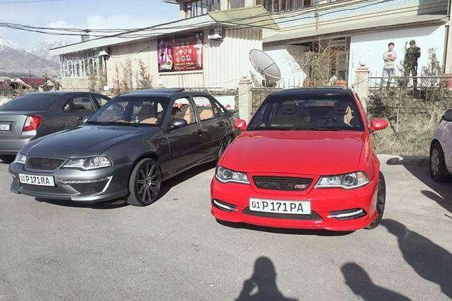 Тюнинг по-узбекски: снаружи Nexia, внутри Mercedes-Benz (5 фото)