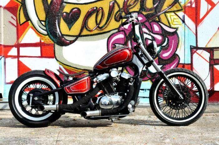 Houston Retro Bobbers - японские мотоциклы в американском стиле (18 фото)