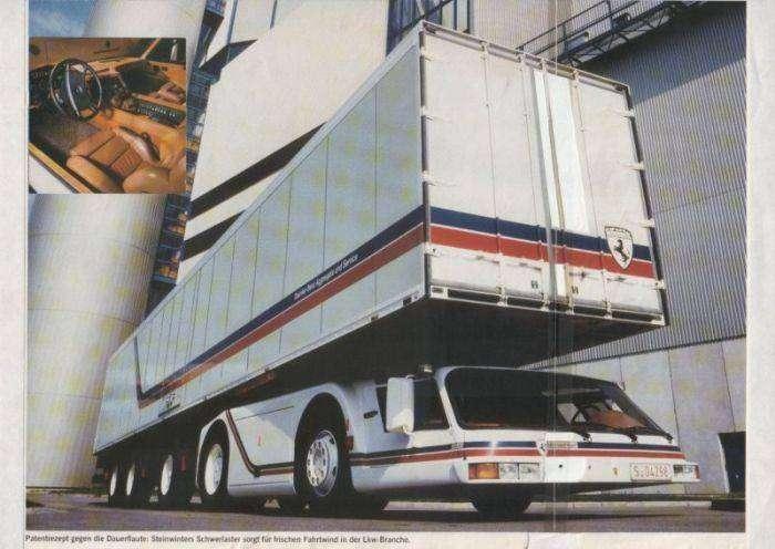 Steinwinter Supercargo - необычный грузовик (8 фото)