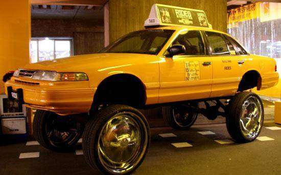 Не бюджетное такси (10 фото)