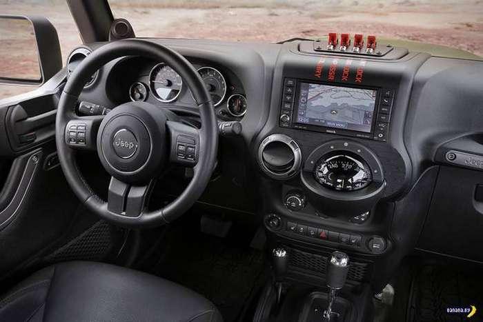 Концепт Jeep Crew Chief 715