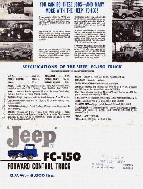 "Американская ""буханка"" Jeep FC (20 фото)"