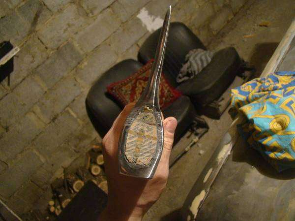 Как сделать топор таким, чтобы было его можно было подарить (21 фото)