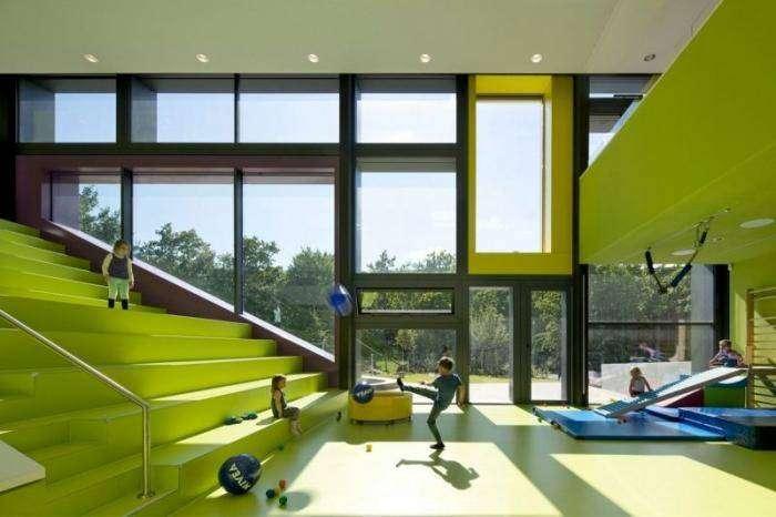 Современный детский сад в Германии (10 фото)