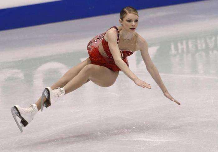 Падения на льду (15 фото)