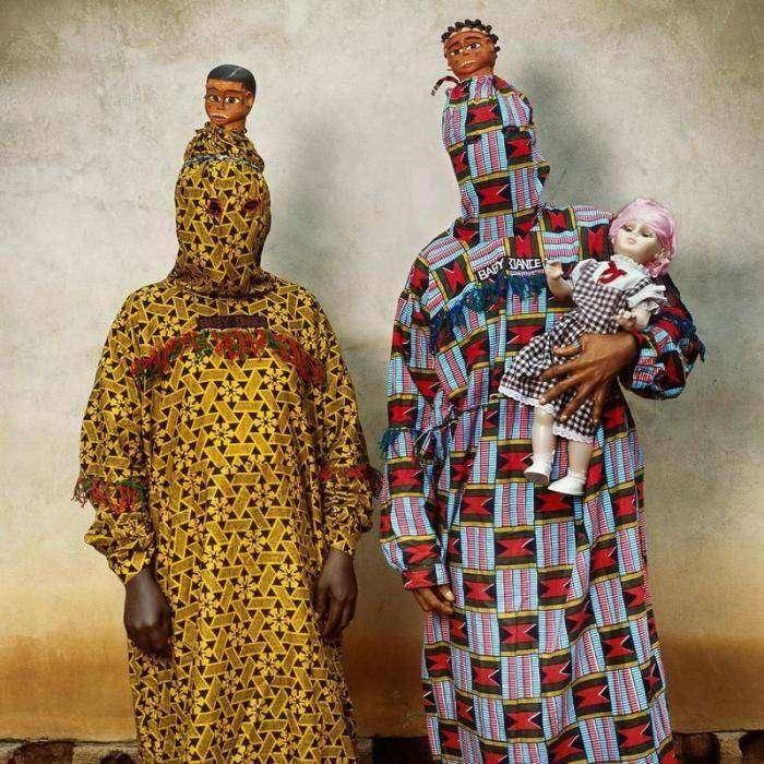 Стильные прикиды африканских модников от кутюр (20 фото)