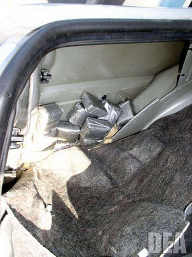 Где прячут кокаин (14 фото)