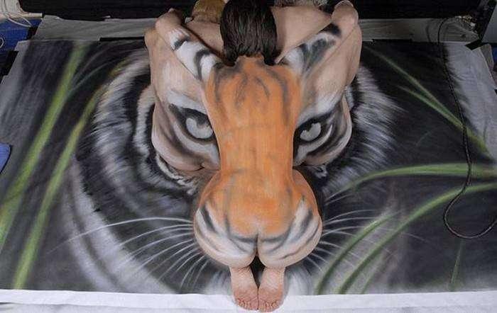 Художники за спасение тигров (17 фото)