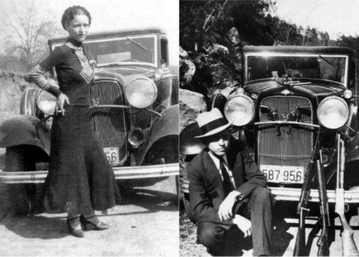Какие автомобили предпочитали известные американские бандиты (45 фото)