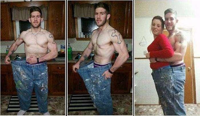 Страх перед смертью заставил канадца похудеть на 83 кг (6 фото)