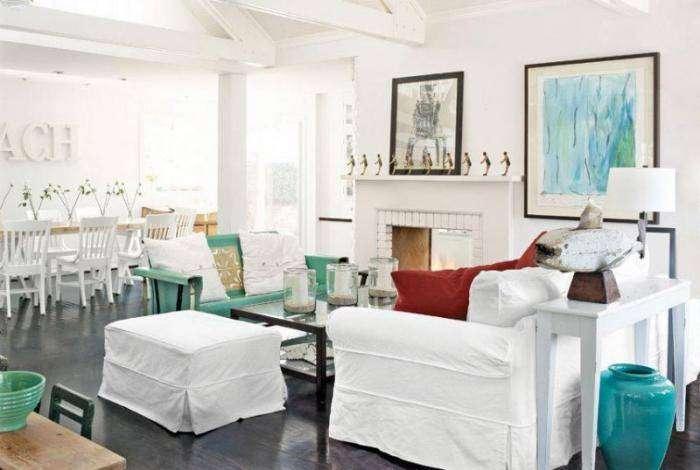 Интересные идеи оформления гостиных (25 фото)