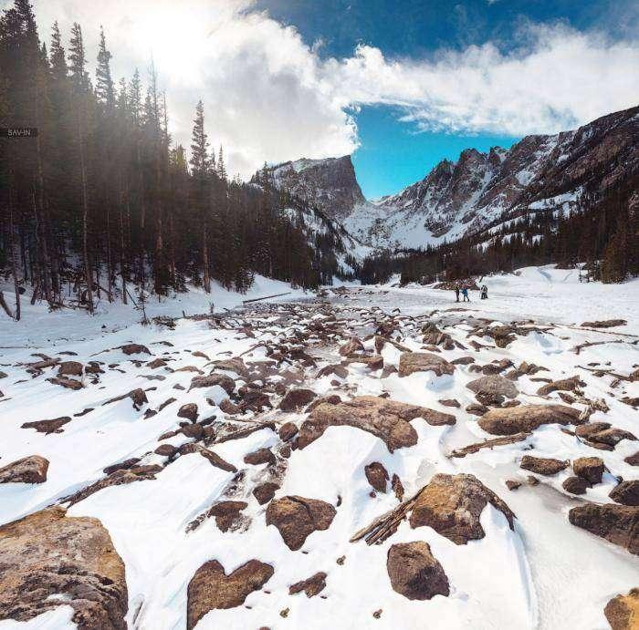 Колорадо. Национальный парк Rocky Mountain (27 фото)