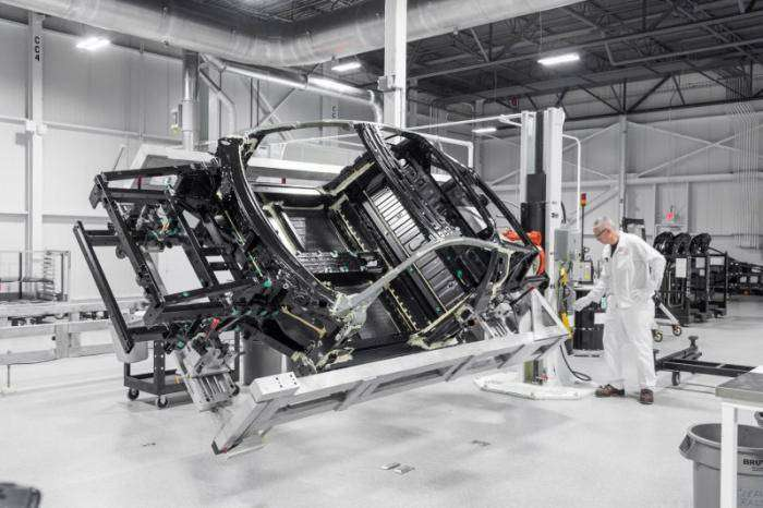 Серийное производство суперкара Acura NSX в штате Огайо (9 фото)