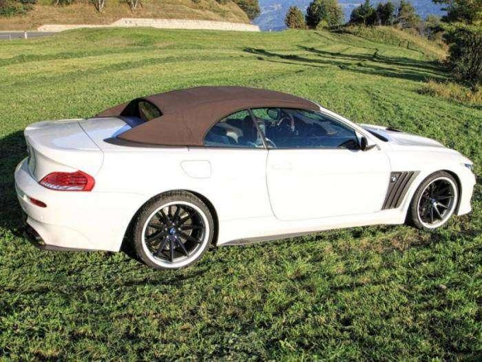 Выставлен на продажу один из 10 доработанных BMW M6 Vilner (9 фото)