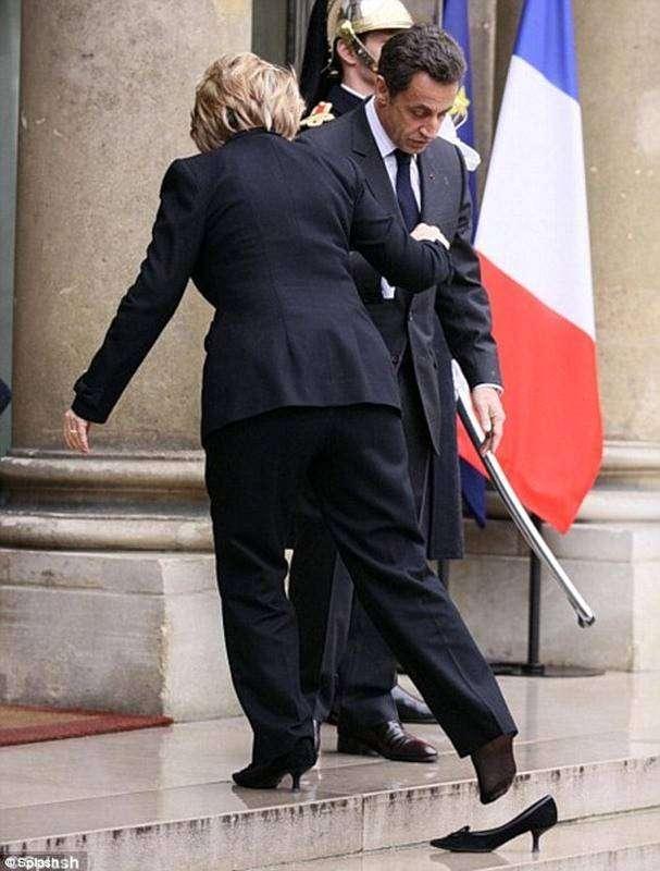 На приеме у президента Франции (9 фото)