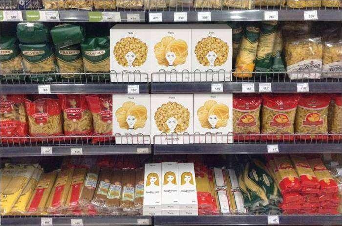 Крутой дизайн упаковки для макаронных изделий (5 фото)