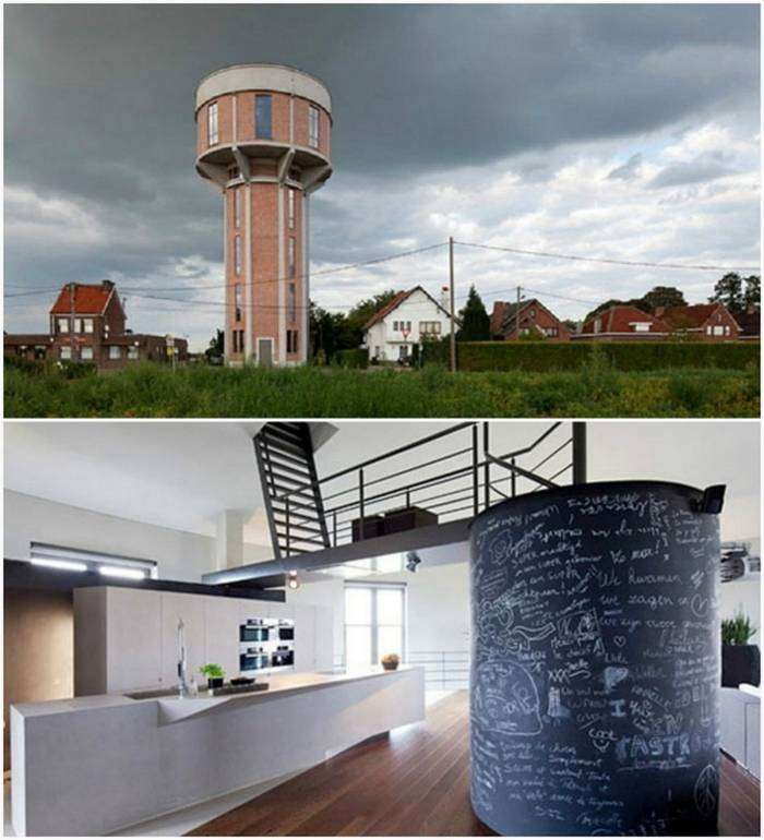 Необычные и экстравагантные жилые дома из разных уголков мира (17 фото)