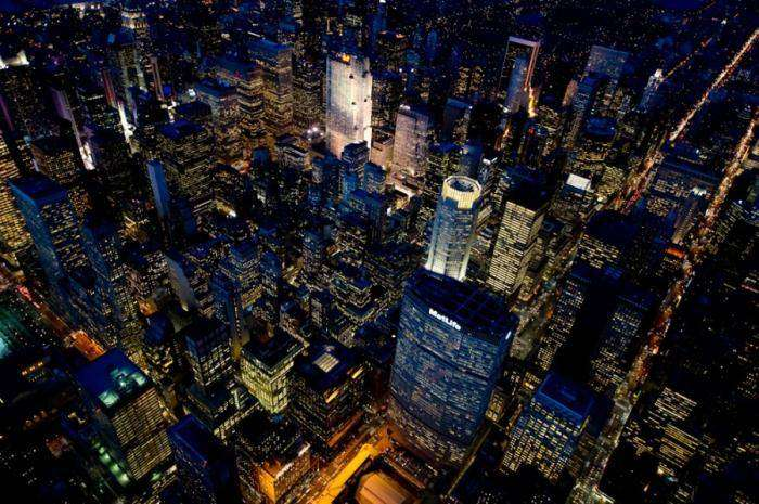 Ночной Лос-Анжелес и Нью-Йорк (20 фото)