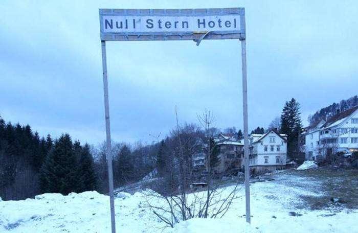 Нулезвездочный отель (15 фото)