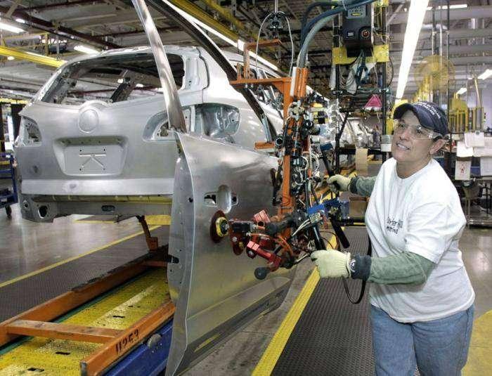 Завод Дженерал Моторс (18 фото)