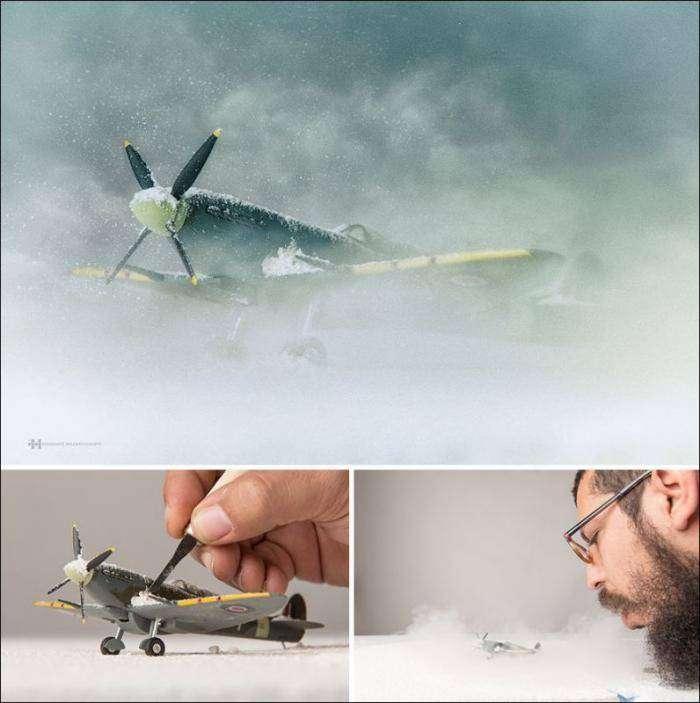 Детские игрушки + воображение + фотошоп (9 фото)