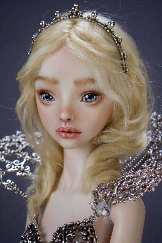 Фарфоровые куклы ручной работы от российского дизайнера (14 фото)