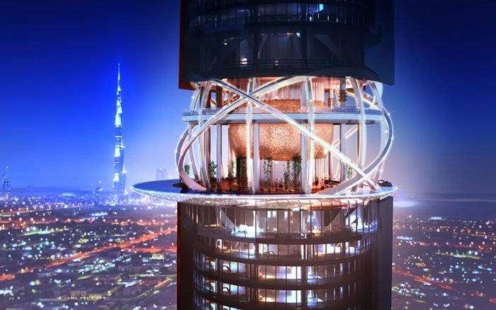 Отель в Дубае с собственным тропическим лесом (5 фото)