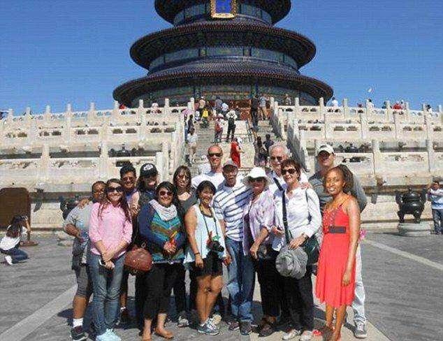 Увлекательная поездка африканской девушки в Китай (7 фото)