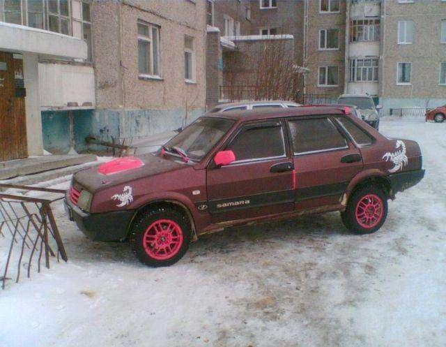 Тюнинг по-русски (56 фото)